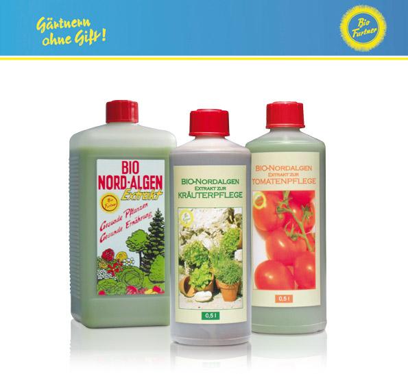 Bio Furtner Bio Nordalgenprodukte für den biologischen Anbau