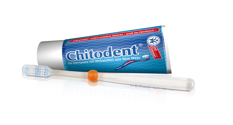 Chitodent® antibakteriell wirkende Zahnbürste mit Silberionen in den Borsten