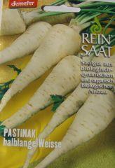 Biologisches Saatgut  Pastinak HALBLANGE WEISS ,kbA Pastinaca sativa L