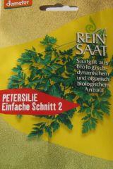 Biologisches Saatgut Petersilie EINFACHE SCHNITT 2, kbA Petroselinum crispum