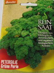 Biologisches Saatgut kbA Petersilie GRÜNE PERLE petroselinum crispum