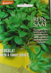 Biologisches Saatgut Feldsalat VERTE À COEUR PLEIN 2 ReinSaat