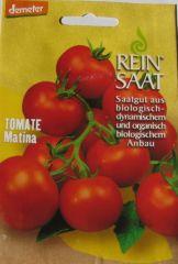 Biologisches Saatgut kbA Tomate MATINA Lycopersicon esculentum Mill.