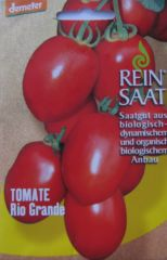Biologisches Saatgut kbA Tomate RIO GRANDE Lycopersicon esculentum Mill.