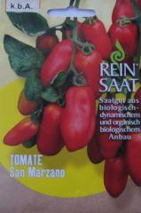 Biologisches Saatgut kbA Tomate SAN MARZANO Lycopersicon esculentum Mill.