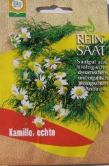 Biologisches Saatgut Kamille, kbA echte Matricaria recutita