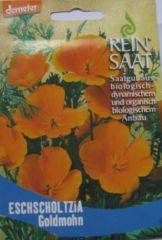 Biologisches Saatgut Kalifornischer Mohn, kbA Eschscholtzia californica