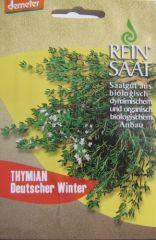 Biologisches Saatgut Thymian Deutscher Winter,Saatgut kbA Thymus vulgaris