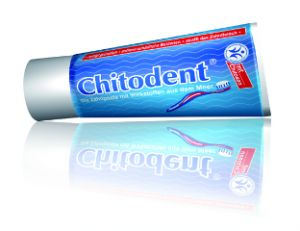 Chitodent® Chitosanzahnpasta biologische Zahnpasta biozertifizierte Zahnpasta nach BDIH