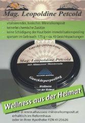 Altausseer Mineralkomposit rein natürliche Mineralkosmetik ohne chemische Zusätze Suspension