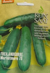 Biologisches Saatgut Freilandgurke MARKETMORE 76, kbA Cuncumis sativus