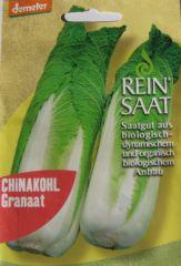 Biologisches Saatgut Chinakohl Granaat, kbA Brassica peknensis L