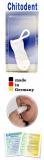 Chitodent® Fingerzahnbürste aus antibakteriell wirkender Mikrofaser