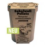 Schafwoll-Pellets