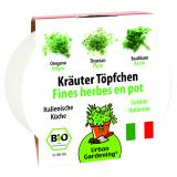 """Kräutertöpfchen """"Italienische Küche"""""""
