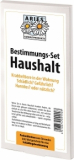 Bestimmungs-Set Haushalt